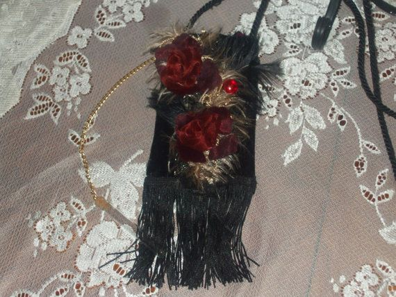 Red Rose Victorian by LadyIsabellasAngel on Etsy