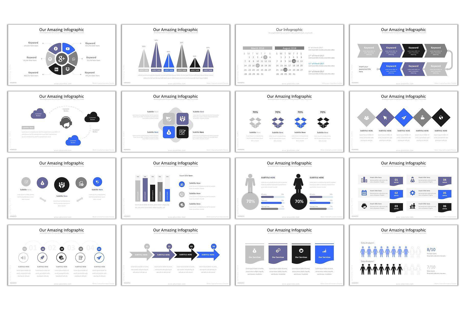 Nube Modern Powerpoint