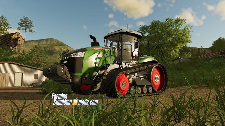 Fendt 1100 MT Tractor in Farming Simulator 19 - Farming Simulator 19