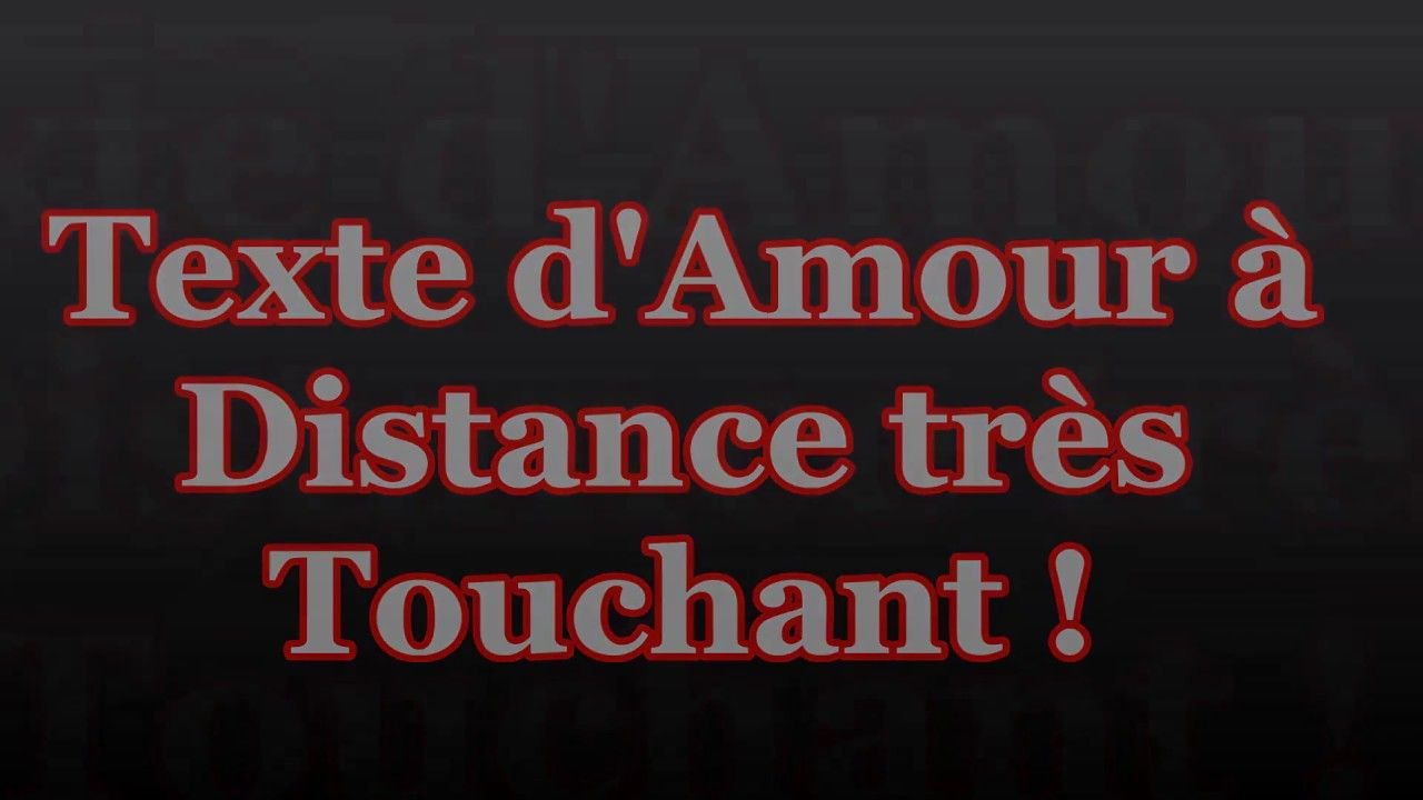 Poeme d amour pour un homme a distance [PUNIQRANDLINE-(au-dating-names.txt) 50