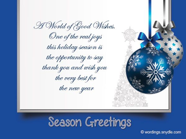 Christmas messages for business wordings and messages christmas christmas messages for business wordings and messages m4hsunfo Images