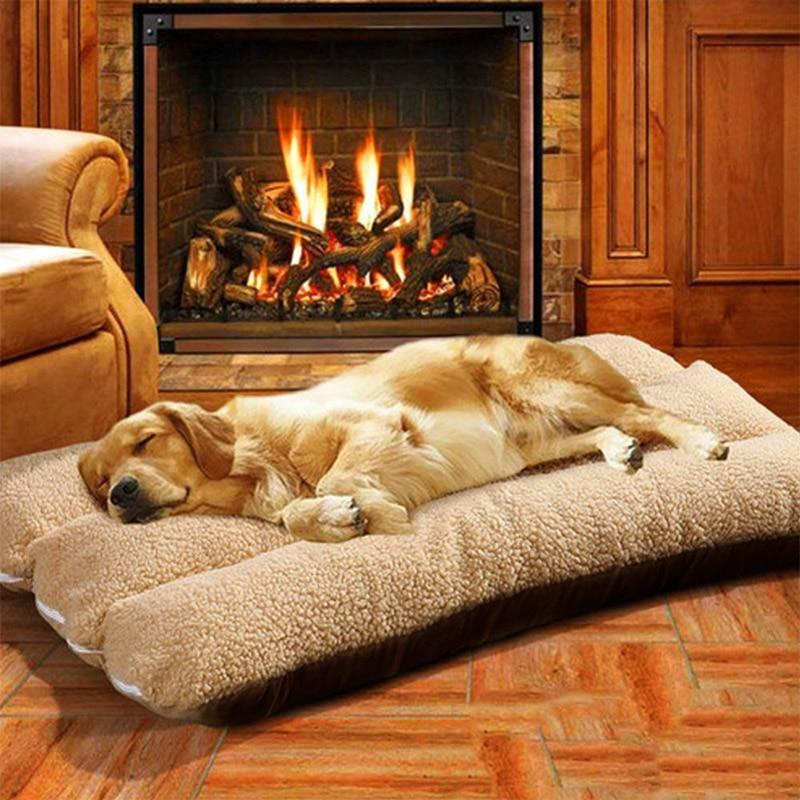 pet cushion blanket winter dog bed mat