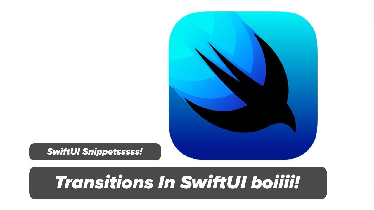 Swiftui Transition How To Animate Views With Transition In Swiftui X Pinterest Course Build An App Transitional
