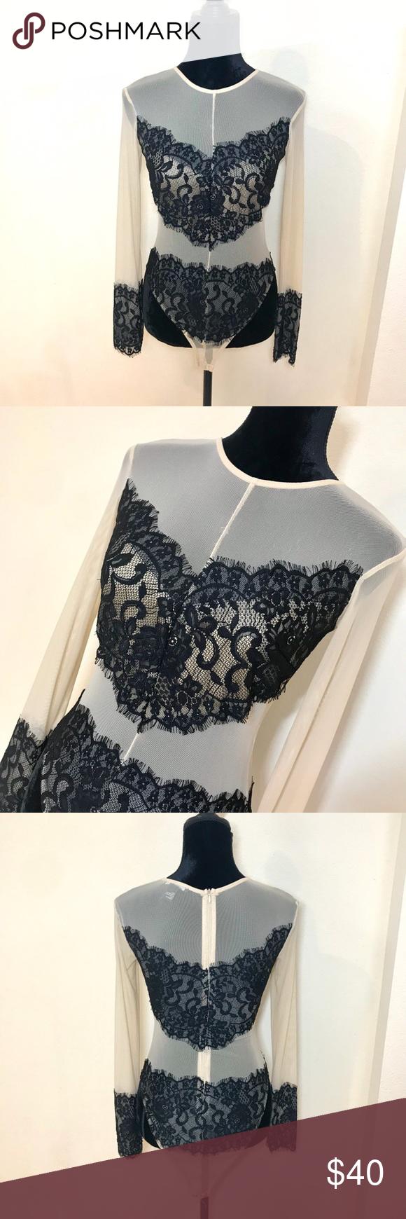 Lace Body Suit Lace bodysuit, Lace body, Miami fashion