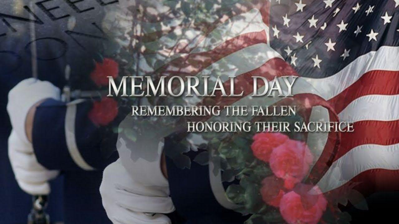 Memorial Day Tribute 2020 Remember The Fallen Memorial Day Memories