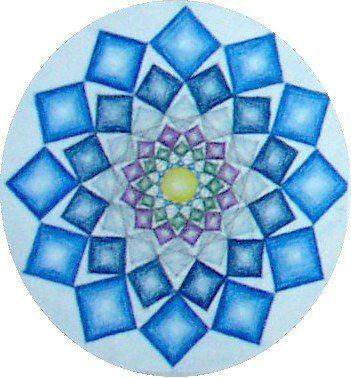 Waldorf ~ 6th Grade ~ Geometric Drawing ~ 12 Cube Circle ~ main lesson book