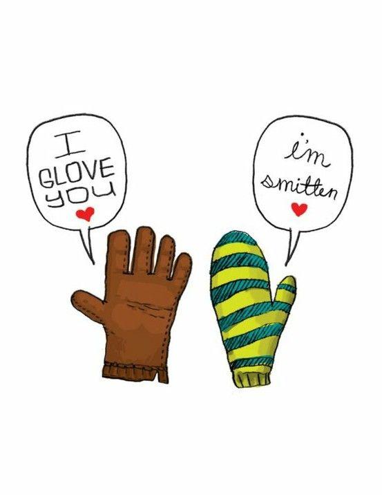 Use Cricut Images Of Glove U0026 Mitten U0026 Stamp The Speech Bubble U0026 Write In  The Sentiment! This Would Be A Super Cute Valentineu0027s Day Card!