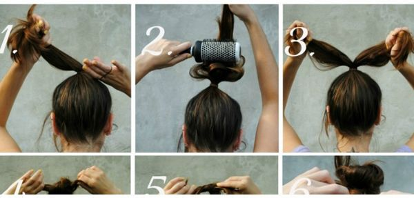 How To Knot a Bun