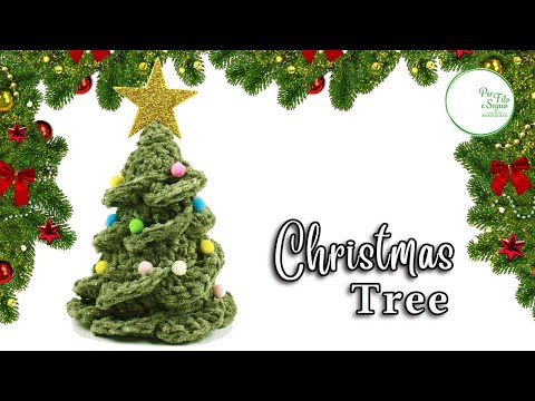 How To Crochet A Very Easy Christmas Tree Youtube Simple Christmas Tree Simple Christmas Christmas Decorations