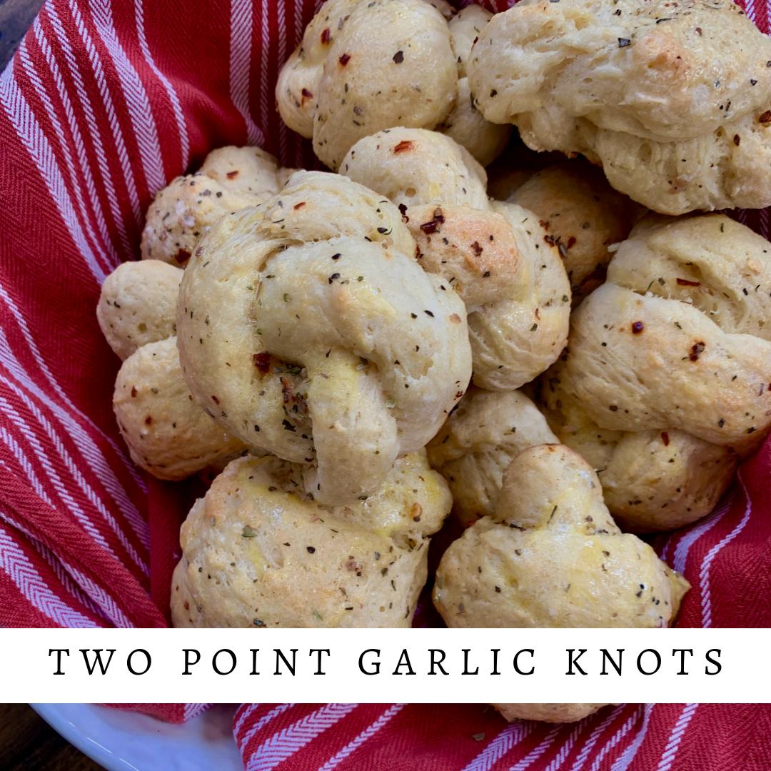 Easy 2 Point Garlic Knots   Garlic knots, Low calorie ...