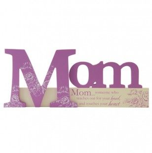 Mom Cutout Tabletop Sign