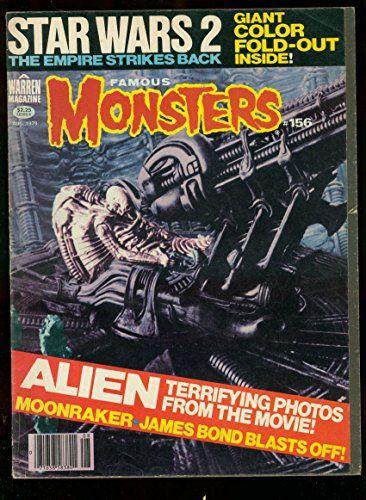 Famous Monsters Of Filmland #156 1979- ALIEN STAR WARS VG- @ niftywarehouse.com #NiftyWarehouse #Nerd #Geek #Entertainment #TV #Products