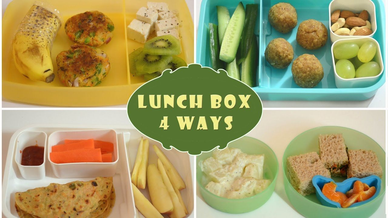 indian lunch box ideas - part 1 | kids lunch box recipes| quick