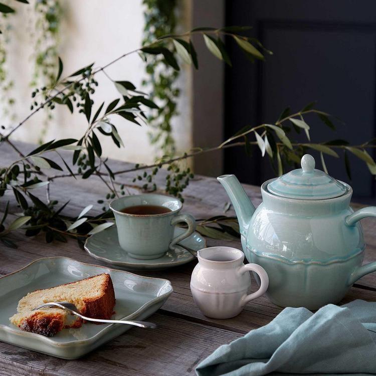 Costa Nova Alentejo Tea Cup Saucer Zola In 2020 Soup Plating Costa Nova Dinnerware