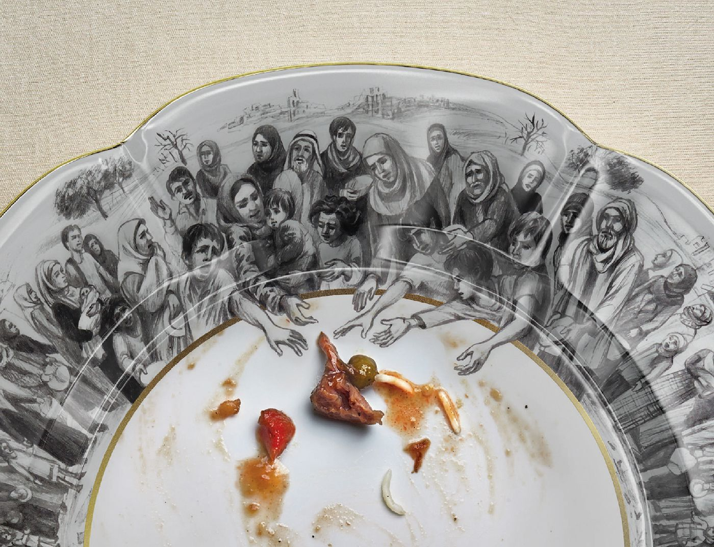 World Food Programme Hunger Plate On Behance