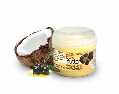 Organic Paw and Body Butter for Dogs and CatsHappy Pets Paw and Body Butter is a 100% natural way to minister to your doggies cracked, dry or rough tootsies, which could be causing them more pain and discomfort than you realise and could even lead to limping. Its super rich formula of organic coconut oil, shea butter and beeswax deeply nourishes and soothes dry and damaged paws and locks in moisture, preventing further damage.