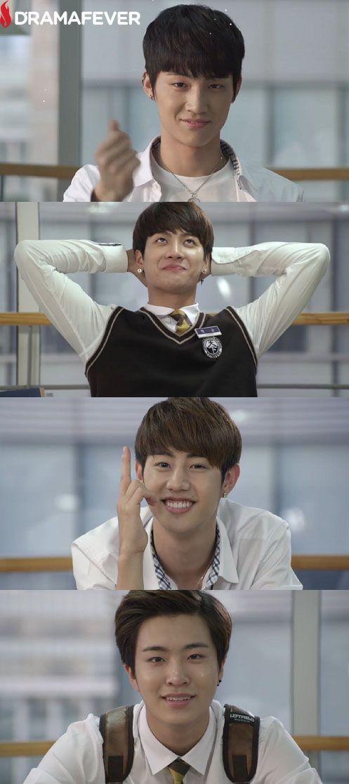 Got7 S Jb Jackson Mark And Young Jae In The Fun Web Series Dream Knight Got7 Got7 Jackson Dream Knight