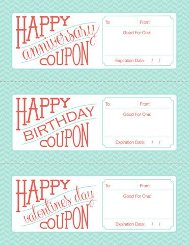 Iu0027ve created this free downloadable \/ fillable \/ printable gift - birthday coupon templates free printable