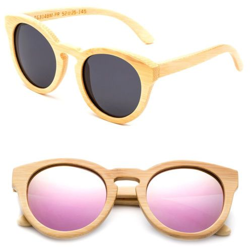 f5d621af201 Full Bamboo Sunglasses Handmade Anti Glare Polarized Wooden Spring Hinges.  Wood