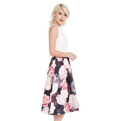 Oasis Springbloom 2 in 1 midi dress | Debenhams