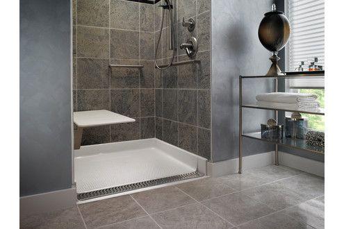 Universal Bathroom Design Zerothresholdshower  Universal Design  Pinterest