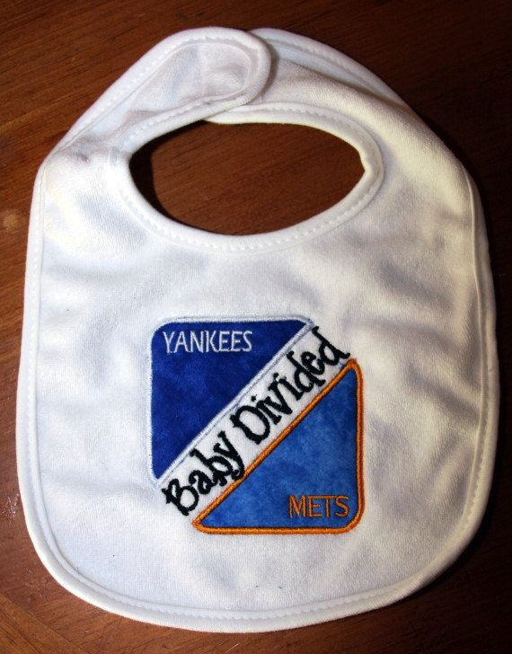 Baby Divided Yankees And Mets By Kenakreations On Etsy