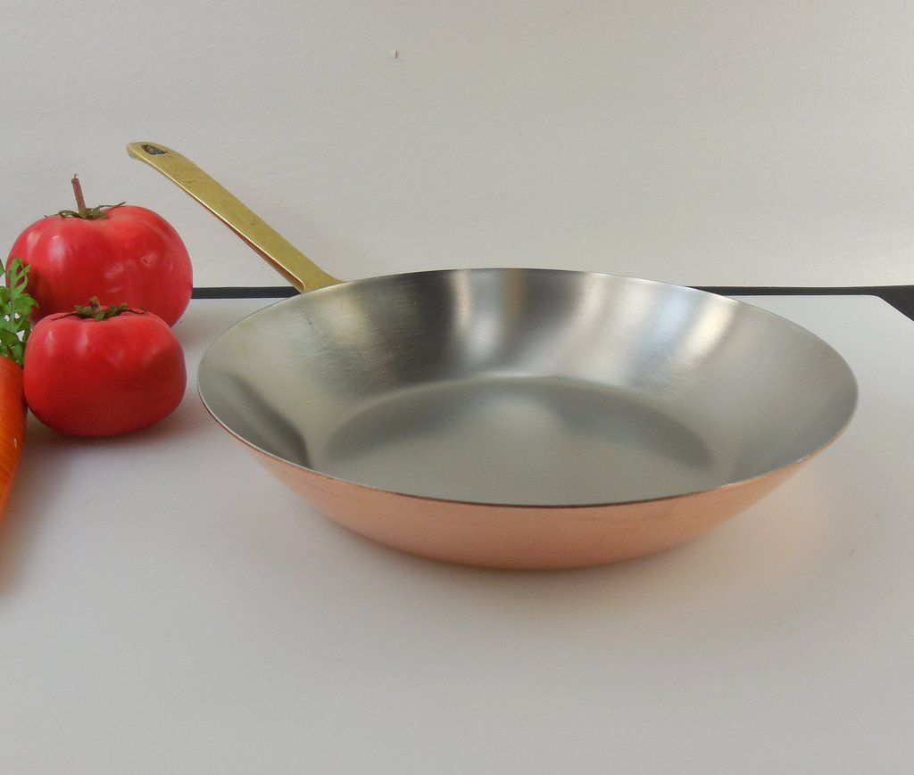 Sold Revere Ware Signature Limited Edition Copper Stainless Brass 8 5 Fry Pan Skillet Revere Ware Copper Cookware Revere