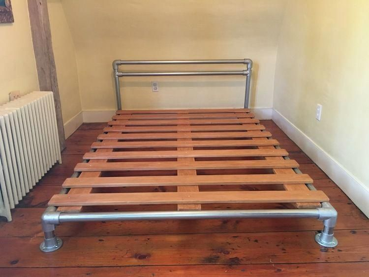26 Amazing Bed Frame No Box Spring Required Bed Frames Grey High