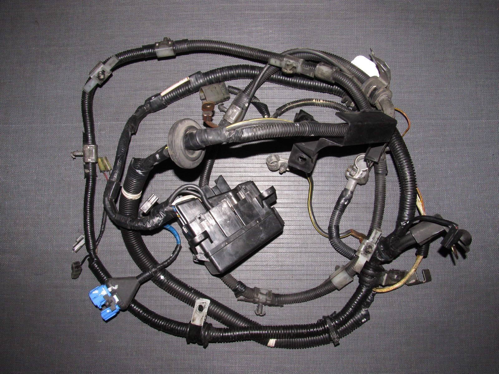 90 91 92 93 mazda miata fuse box transmission engine wiring harness [ 1600 x 1200 Pixel ]