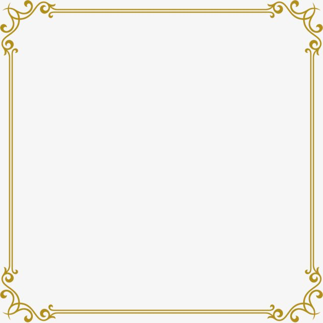 Gold frame, Vector Ancient Box, Frame, Png Ancient Box PNG and ...
