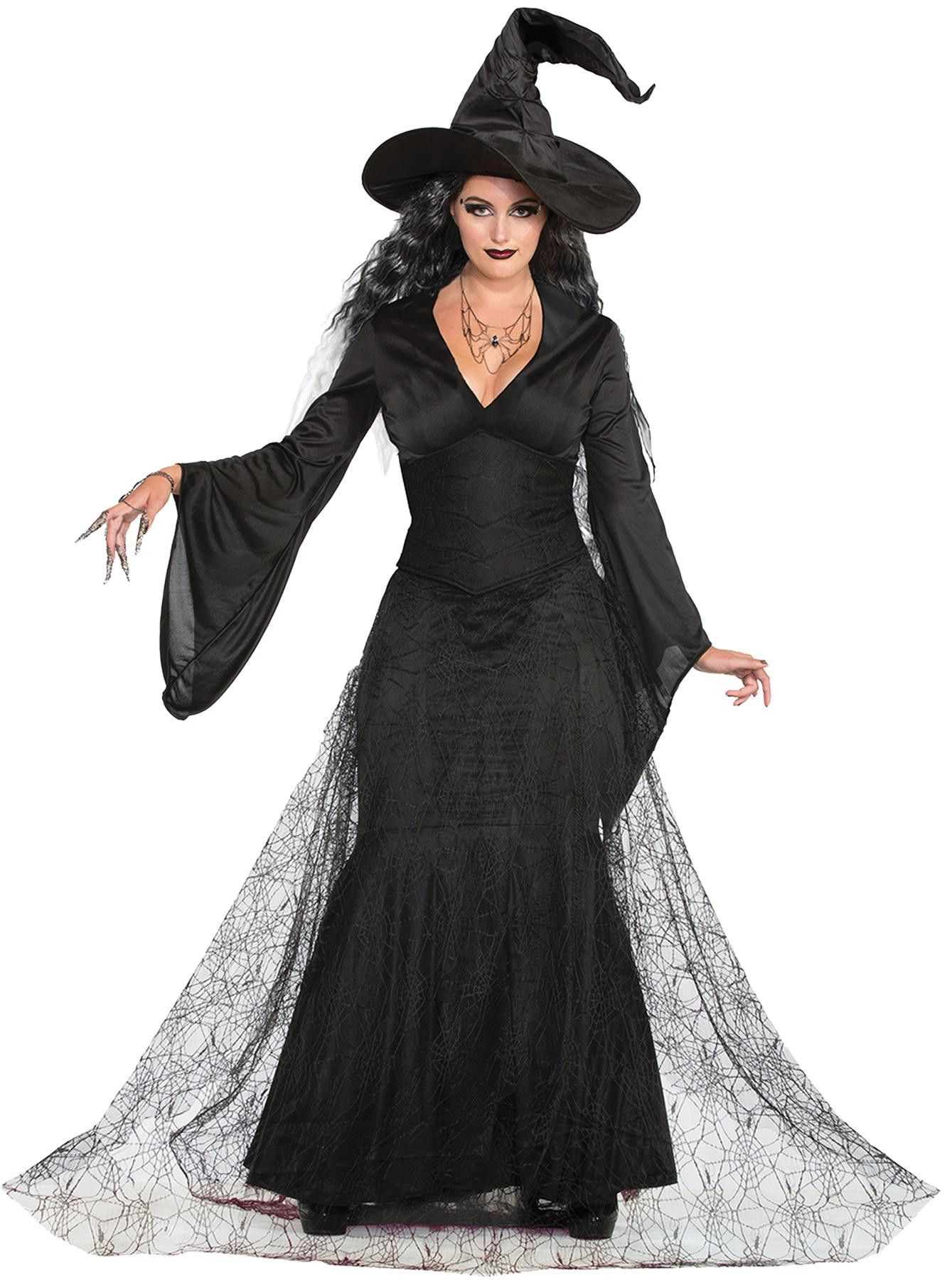 Black Mist Witch Adult Ml Costumes for women