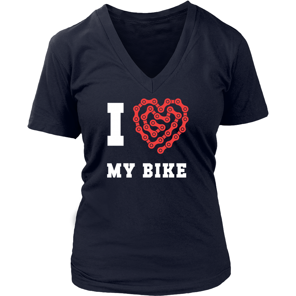 If you are a proud cyclist & bike enthusiast then I love my bike tee or hoodie is for you. Custom Cycling inspired T-Shirts & Apparel by TeeLime. If you want different color, style or have an idea for