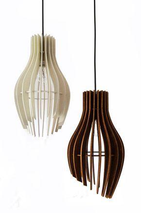 Strepen Hanger Licht Houten Lamp Hanger Verlichting Multiplex Opknoping Licht Ontwerper Licht Plafond Lamp Verlichting Armatuur Kroonluchter Houten Lamp Lampen Verlichting