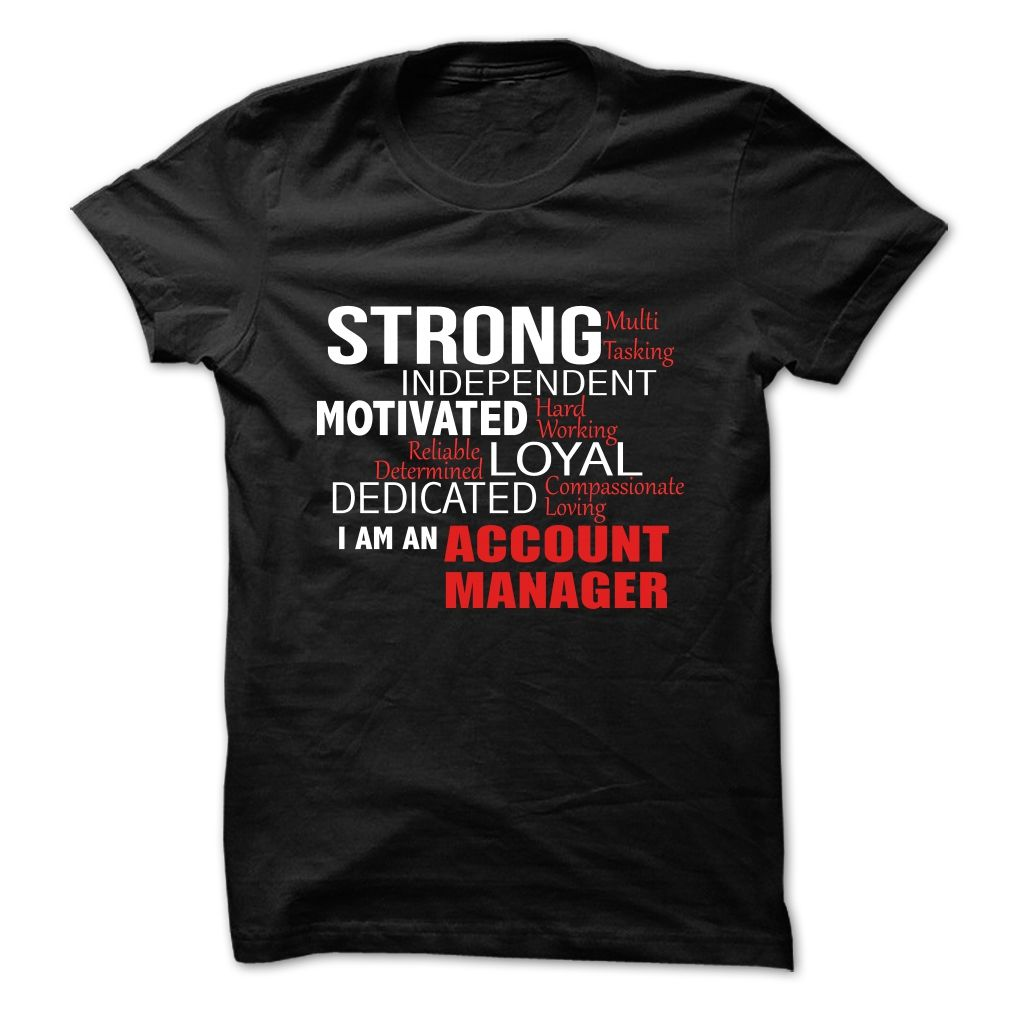 ACCOUNT MANAGER – L2 T SHIRT
