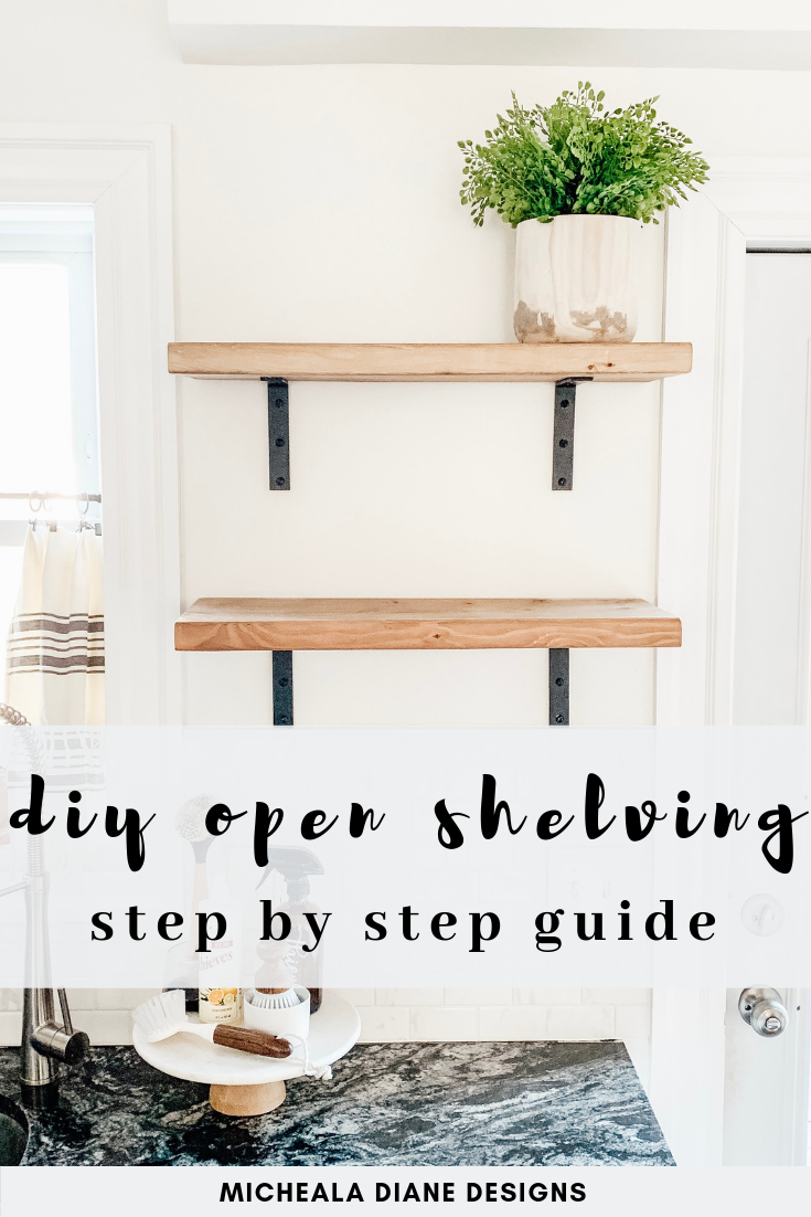 Photo of DIY Open Shelving