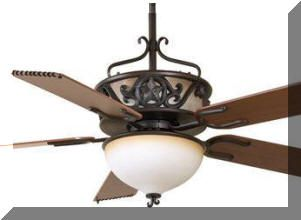 Lone Star Ceiling Fan - Rustic Lighting and Fans