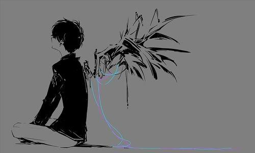 winged boy