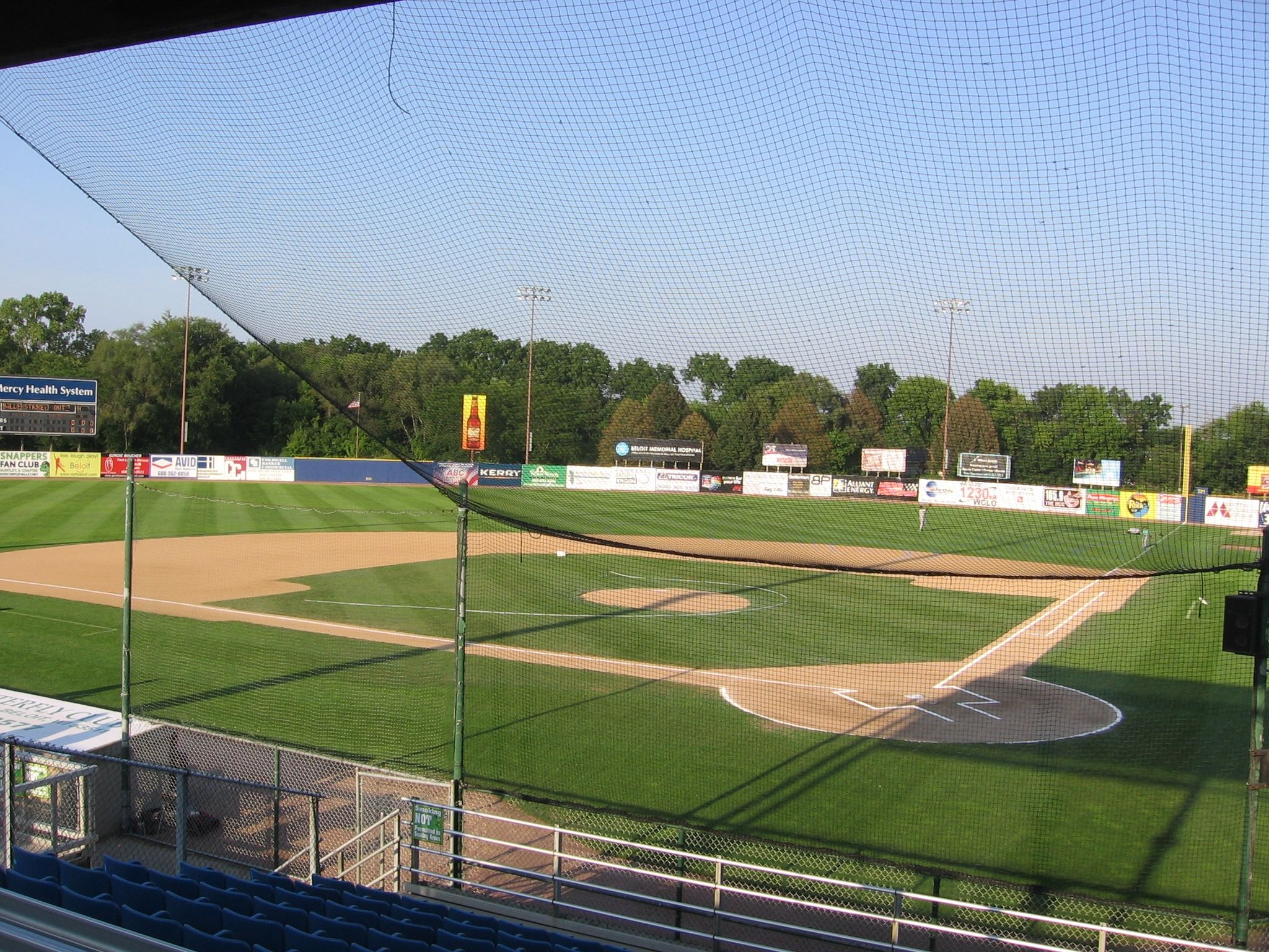 Harry C Pohlman Field In Beloit Wisconsin Home To The Beloit Brewers Of The Midwest League They Were The Single A Af Beloit Wisconsin Beloit Places To Go