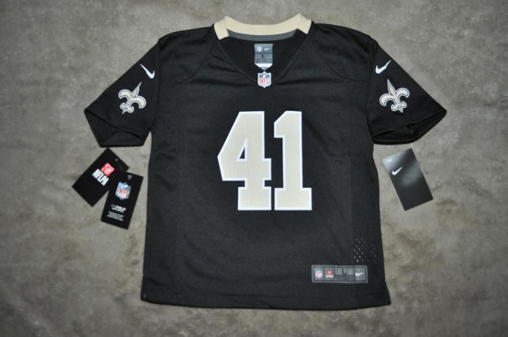 9fc7e3c98c0 Nike ALVIN KAMARA New Orleans Saints Preschool Player Game Jersey Black  Small 4 (eBay Link)