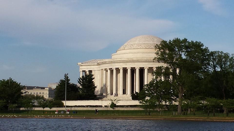 Washington DC Jefferson Memorial - Neoclassical Pantheon.