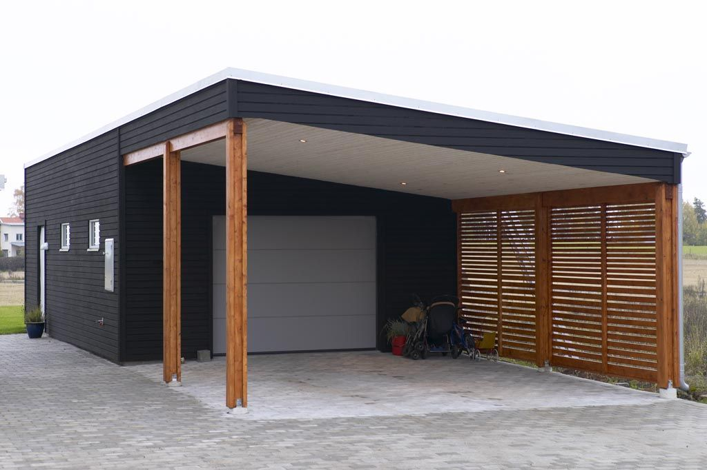 Savsjo Trahus Carport House Ideas Trahus