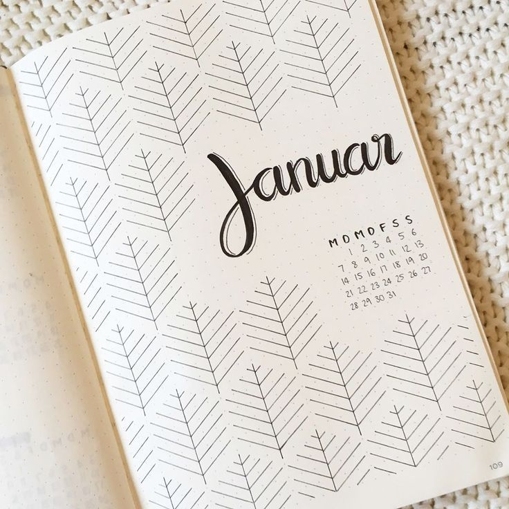 "Jana on Instagram: ""Hello January! � . . . . . #bulletjournal #bujo #bulletjournalideas #bulletjournalinspiration #bujogermany #bujogram #bujoinspiration…"""