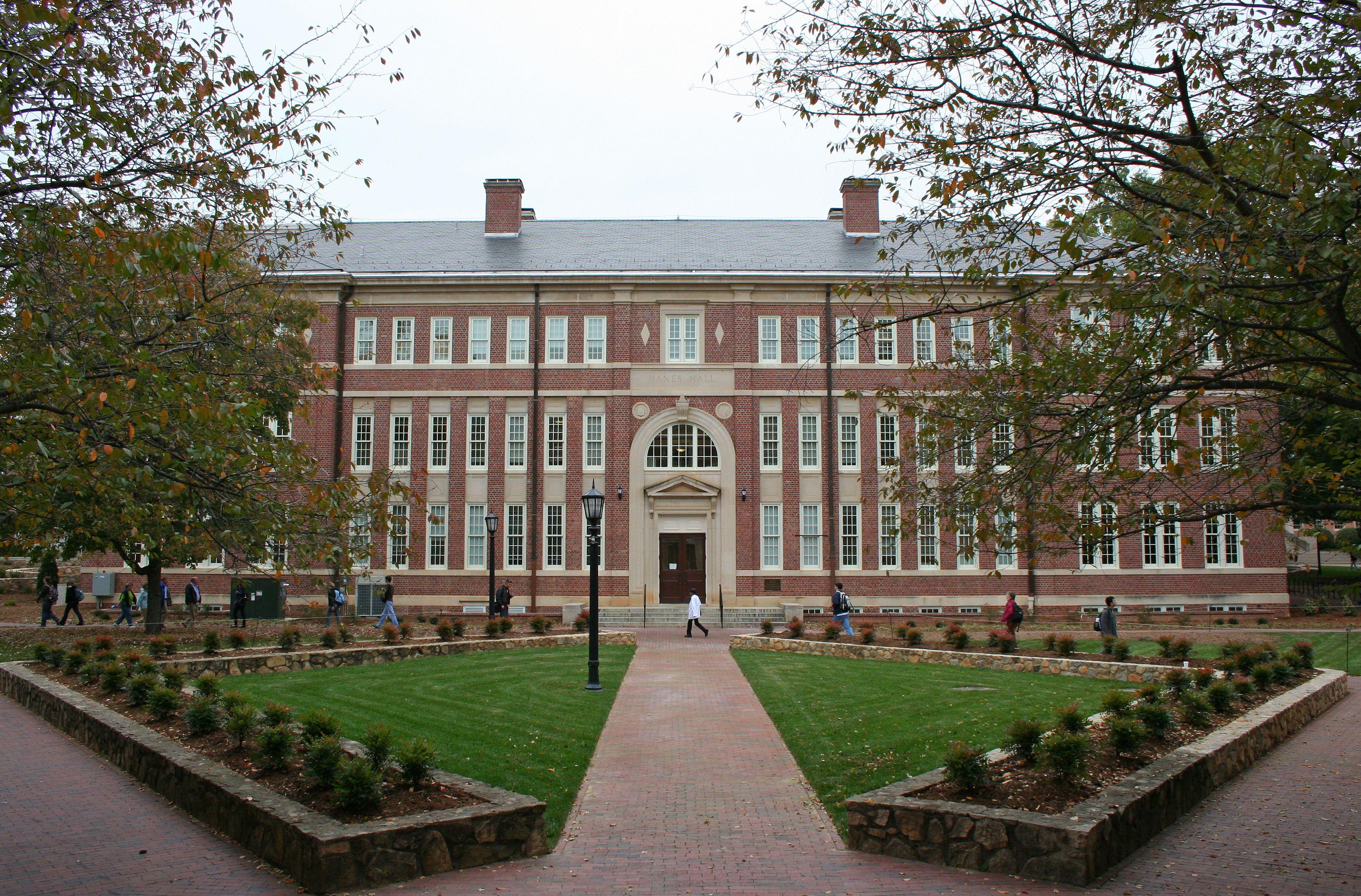 Hanes Hall - UNC Chapel Hill | Unc chapel hill, College ...