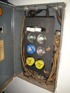 1960s fuse box detroit 67 pinterest 1950s rh pinterest com 1960 ford falcon fuse box 1960 thunderbird fuse box location