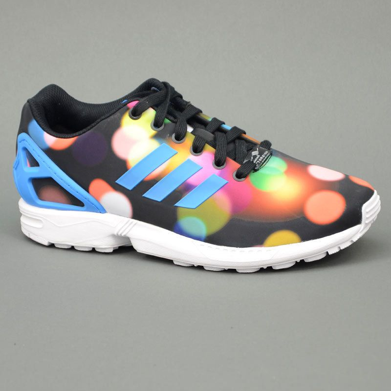 reputable site 778e5 7523a ADIDAS ORIGINALS ZX FLUX PRINT PACK CITY RAINBOW B23984  220