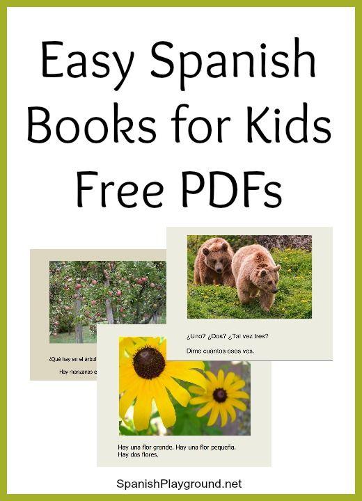 Easy Spanish Books PDF for Kids | Spanish for Kids | Spanish lessons