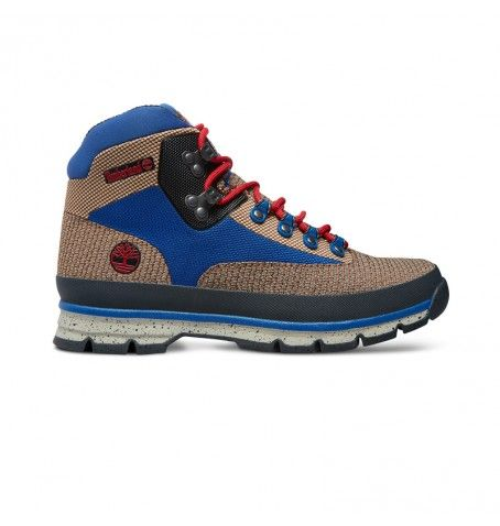 Soldes - Timberland A15QZ - Euro Hiker Mid Jacquard Homme