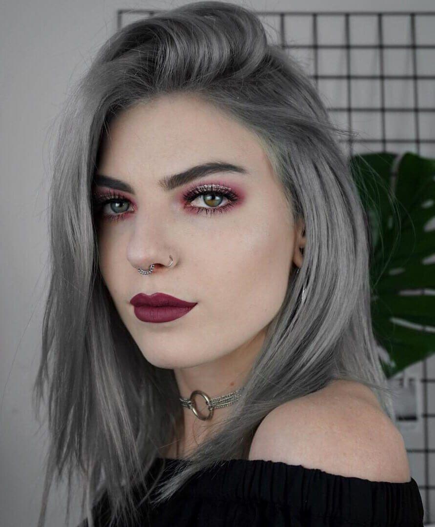 creative grey hair color ideas grey hair color ideas