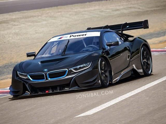 Racing variant of the BMW i8 could look like  Styled in the mould of