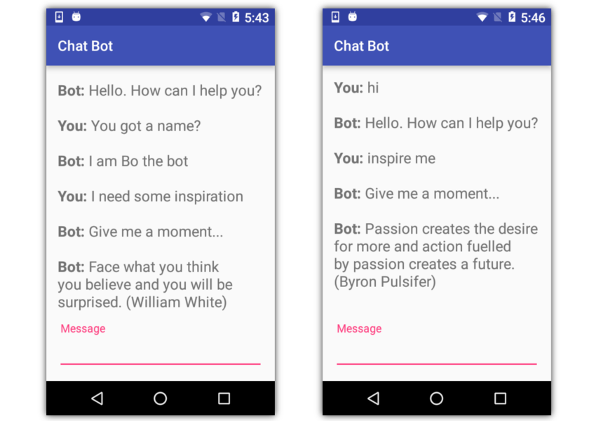 Create Intelligent Chatbots on Android With IBM Watson